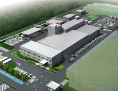 信越化学工業 新工場