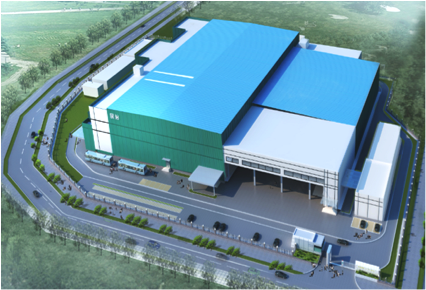 明治雪糕(広州)新工場建設