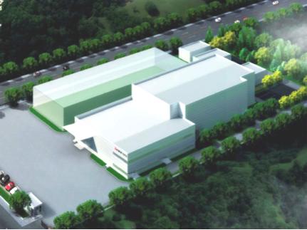 三菱樹脂 中国新工場